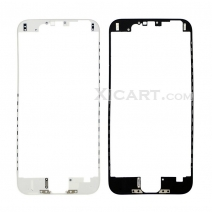 For iPhone 6 (4.7 inch) Touch Screen Frame Bezel with hot melt glue - black / white
