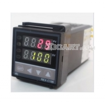 Dual Digital PID Temperature Controller Control Rex-C100 4Digits LED Display Thermostat1