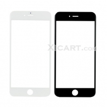 Front Outer Screen Glass Lens for iphone 7 Plus (5.5 inch) - Black / White
