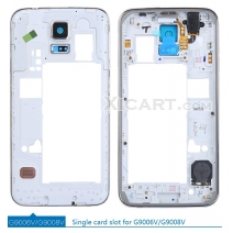 Middle Frame Bezel Camera Lens Housing For Samsung Galaxy S5 G900H/F/I/V/T G9006V G9008V/W G9009W G9009D