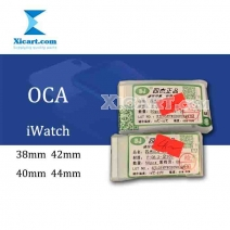 50pcs - OCA Film Optical Clear Adhesive Double-side Sticker for iWatch Series