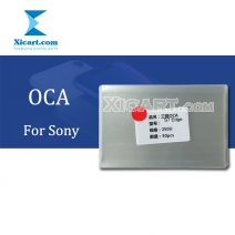 OCA Optical Clear Adhesive Double-side Sticker for Sony Series