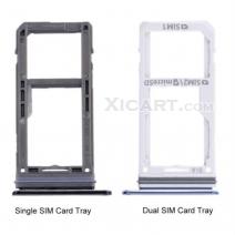Dual / Single SIM Card Tray & Micro SD Card Tray for Galaxy Note 8