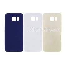 Back Cover Battery Cover for Samsung Galaxy S6 Back Door Rear Panel Plate Glass Housing Replacement
