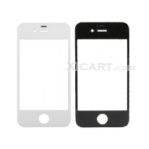 Front Outer Screen Glass Lens for iphone 4/4S - White /Black