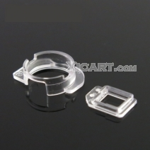10pcs/lot Front Camera & Light Sensor Plastic cap Holder lens Clip Ring Bracket For iPhone 5/5S/5C 6/6 Plus