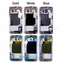 For Samsung Galaxy S6 Edge Back Mid Middle Frame Rear Housing Cover Bezel