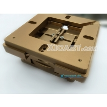 Reballing BGA Station with Wheel Adjustment 80 x80mm & 90mm x 90mm Stencils Template Holder