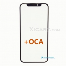 Front Outer Screen Glass Lens for iPhone X