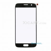 Front Outer Screen Glass Lens for Samsung Galaxy S7 - Pebble Blue / White
