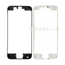 For iPhone 5c Touch Screen Frame Bezel with hot melt glue - black / white