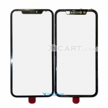 Cold Press 2in1 Front Outer Screen Glass Lens with Frame Bezel Assembly For iPhone XR