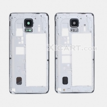 Middle Frame Housing With Rear Camera Lens Replacement For Samsung Galaxy Note 4 N9100 N9106W N9108V N9109W N910F/U