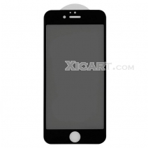 Silkprint Full Coverage Privacy Tempered GLass 3D Arc Edge 0.23mm For iPhone