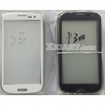 Front Outer Screen Glass Lens for Samsung Galaxy S3 i9300 - White /Black