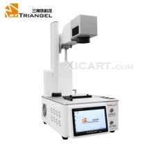 Mini Built-in Computer Laser Ingraving Printing & Back Glass Housing Separator laser marking machine # MT PG OneS