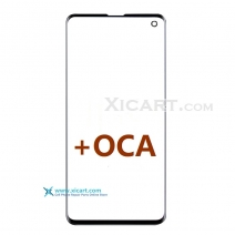 Front Outer Screen Glass Lens with pre-installed OCA for S