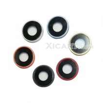 Rear Camera Lens Glass Cover Ring with Frame for iPhone XR (6.1 inch)