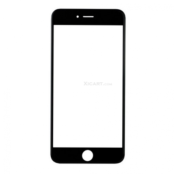 front outer screen glass lens for iphone 6 plus  5 5 inch  - black    white