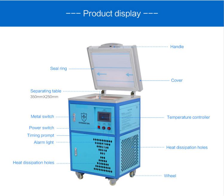 2018 Newest Advanced LCD Frozen Freezer Separator Freezing