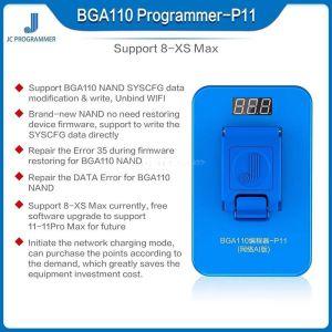 JC Pro1000S PCIE NAND Programmer JC P11 P8 P7 64 32 Bit for iPhone 7 7P 8 8P X XSMAX XR iPad PRO Read Write Error Test Fixture